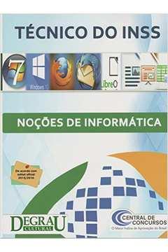 Técnico do Inss: Nocões de Informática