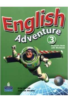 English Adventure 3 - Students Book With Workbook - Cd-rom Included