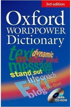 Oxford Wordpower Dictionary- sem Cd - New 3rd Edition