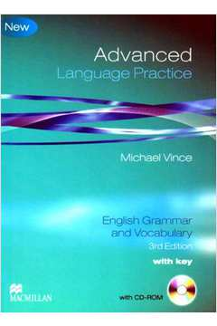Advanced Language Practice With Key English Grammar and Vocabulary