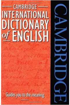Cambridge dictionary of american english - fors speaker of portuguese