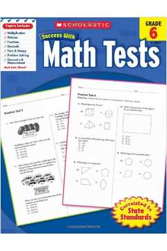 Busca math estante virtual scholastic success with math tests grade 6 fandeluxe Gallery