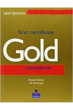 First Certificate Gold-coursebook