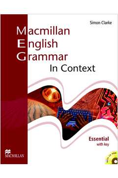 MACMILLAN ENGLISH GRAMMAR IN CONTEXT WITH KEY AND CD-ROM - ESSENTIAL