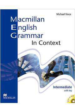 Macmillan English Grammar in Context Intermediate(sem Cd)