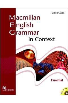 MACMILLAN ENGLISH GRAMMAR IN CONTEXT ESSENTIAL