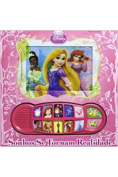 Disney Princesa Sonhos Se Tornam Realidade