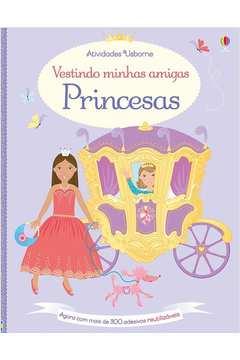 Princesas Vestindo Minhas Amiguinhas