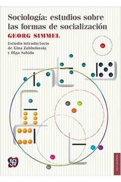 Sociologia: Estudios Sobre las Formas de Socialización (estudos)