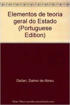 Elementos de Teoria Geral do Estado (22ª Ed. 2001)