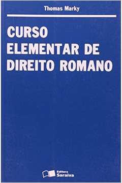 Curso Elementar de Direito Romano 8ª Edição