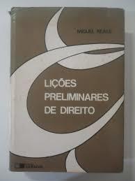 Lições Preliminares de Direito (24°ed 1998)