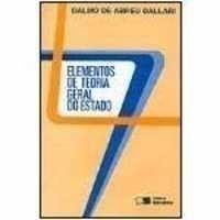 Elementos de Teoria Geral do Estado (24° Edição 2003)