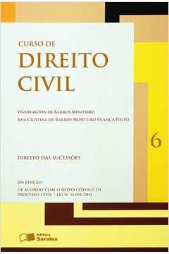 Curso de Direito Civil Direito das Sucessões Vol6