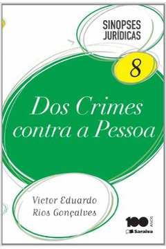 Dos Crimes Contra A Pessoa - Sinopse Juridicas V.8