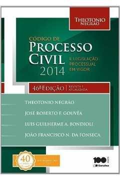 Codigo de Processo Civil e Legislacao Processual Em Vigor