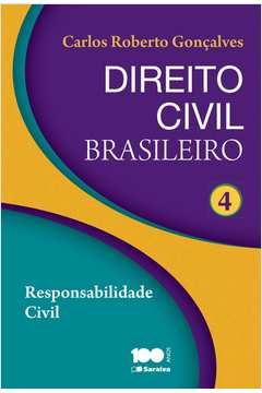 Direito Civil Brasileiro Vol 4