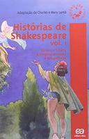 Histórias de Shakespeare Vol.1: Romeu e Julieta, a Megera Domada, a Tempestade