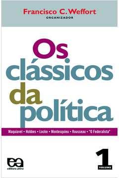 2 Livros os Clássicos da Política Volume 1 e 2