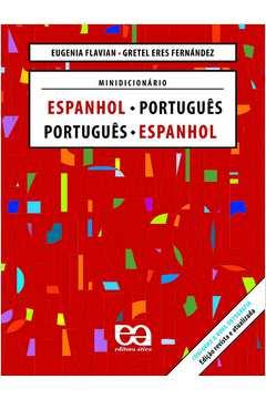 Minidicionário Espanhol Português Port. / Esp. - Nova Ortografia
