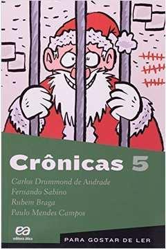 Crônicas Volume 5 - Para Gostar De Ler