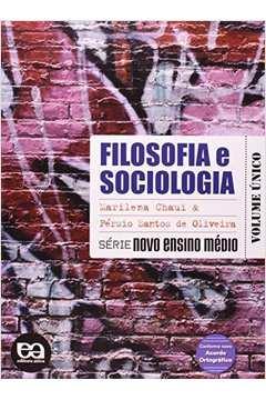 Filosofia Série Brasil  Ensino Médio Volume Único