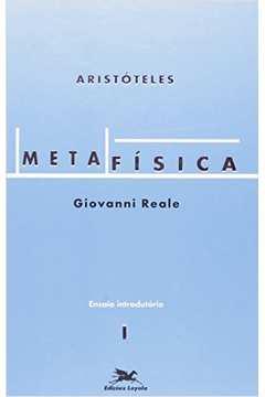 Metafisica Volume 1 Ensaio Introdutorio