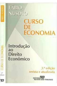 Curso de Economia - Introdução ao Direito Econômico Livro