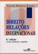 Direito e Relações Internacionais - 8ª Edição - Livro