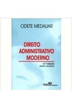 Direito Administrativo Moderno - de Acordo Com a Ec 1998 - Revista At