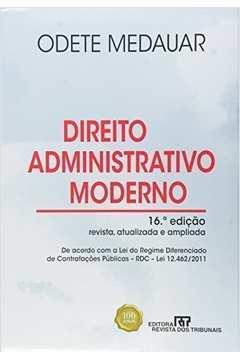 Direito Administrativo Moderno