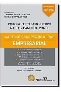 Vade Mecum Prática Oab: Empresarial