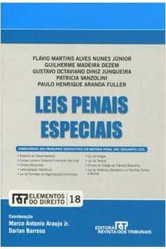 Leis Penais Especiais Vol 18 Colecao Elementos do Direito