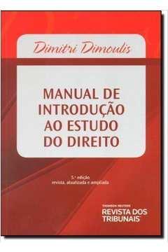 Manual de Introdução ao Estudo do Direito - 4*ed