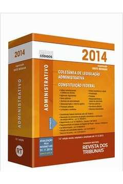 Coletânea de Legislação Administrativa + Constituição Federal