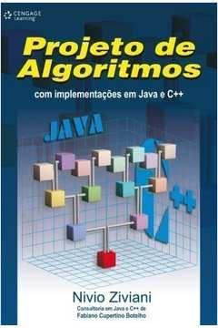 Projeto de Algorítimos Com Implementacões em Java e CMaisMais