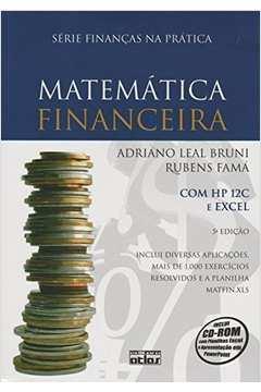 MATEMATICA FINANCEIRA 5ª ED COM HP 12C E EXCEL