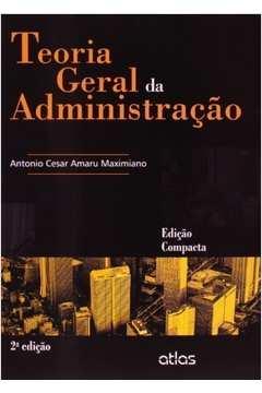 Teoria Geral Da Administracao - Ed. Compacta