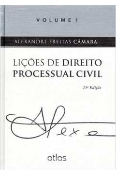 Lições de Direito Processual Civil - Volume 1