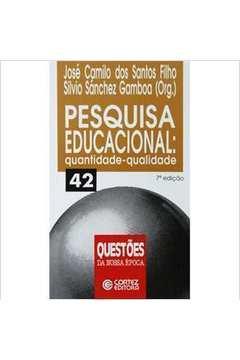 Pesquisa Educacional Quantidade Qualidade