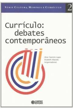 Currículo - Debates Contemporâneos