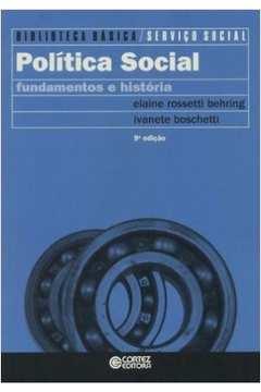 Politica Social - Fundamentos e Historia