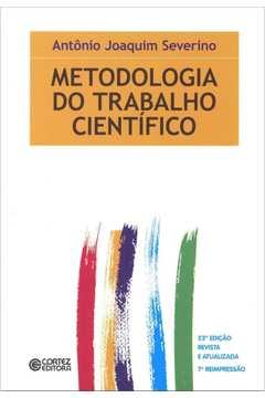 Metodologia do Trabalho Científico (descriÇÃo Fiel, Confira!)