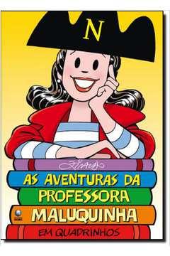 AVENTURAS DA PROFESSORA MALUQUINHA EM QUADRINHOS