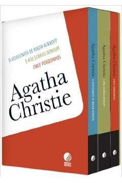 BOX AGATHA CHRISTIE - 3 VOLUMES