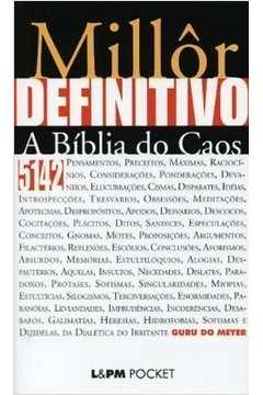 Millôr Definitivo: a Bíblia do Caos (pocket)