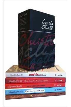 Caixa especial Agatha Christie   5 volumes