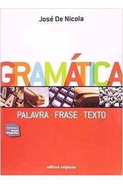Gramática: Palavra - Frase - Texto