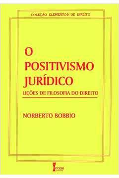 O Positivismo Jurídico-lições de Filosofia do Direito
