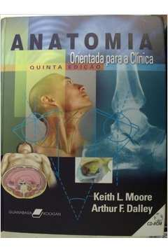 livro de anatomia keith moore